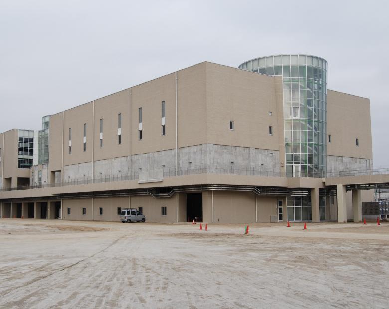 空見スラッジリサイクルセンター第1汚泥棟