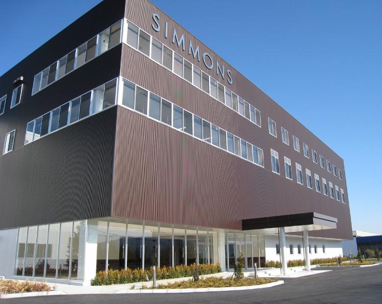 シモンズ富士小山工場