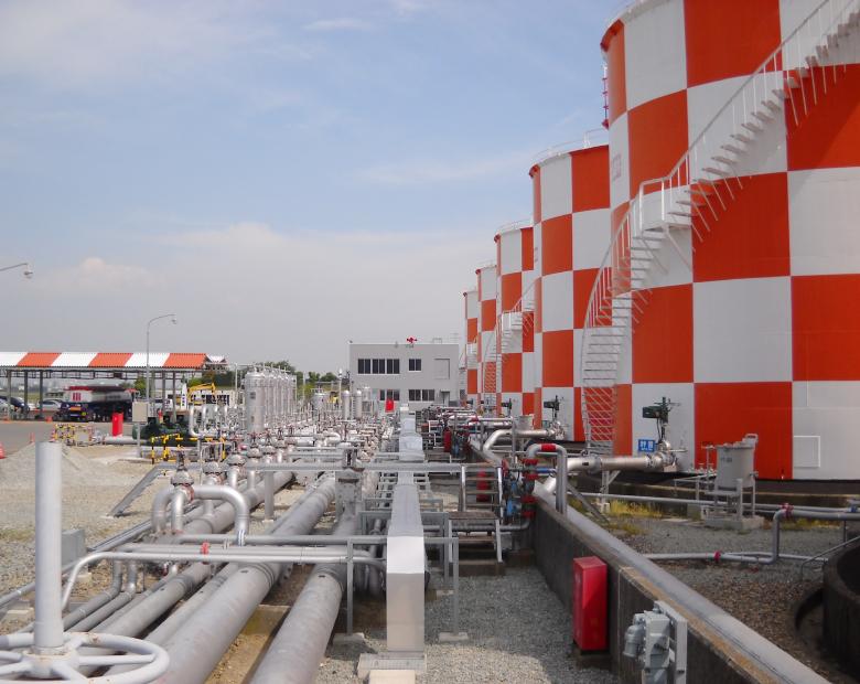 大阪国際空港燃料供給施設改善・改良