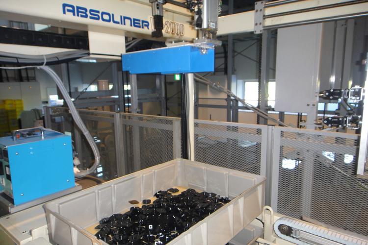 障がい者の生産品を工事用部材にリサイクル